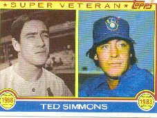 1983 Topps #451 Ted Simmons