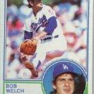 1983 Topps #454 Bob Welch
