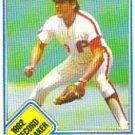 1983 Topps #5 Manny Trillo