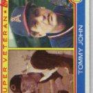 1983 Topps #736 Tommy John