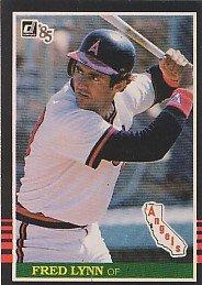 1985 Donruss #133 Fred Lynn