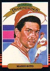 1985 Donruss #19 Mario Soto DK
