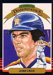 1985 Donruss #20 Jose Cruz DK