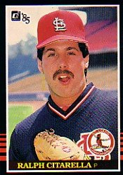 1985 Donruss #504 Ralph Citarella