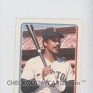 1985 Fleer Star Stickers #13 Jim Rice