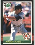 1985 Leaf/Donruss #150 Dwight Evans