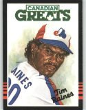 1985 Leaf/Donruss #252 Tim Raines