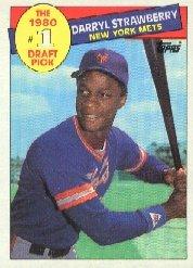 1985 Topps #278 Darryl Strawberry
