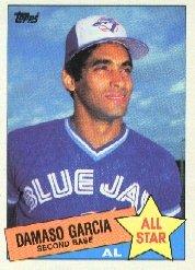 1985 Topps #702 Damaso Garcia