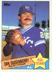 1985 Topps #711 Dan Quisenberry