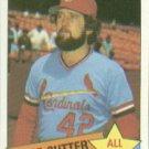1985 Topps #722 Bruce Sutter