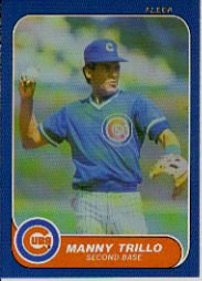 1986 Fleer Update #120 Manny Trillo