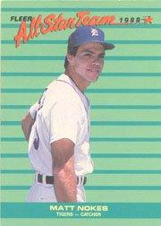 1988 Fleer All-Stars #1 Matt Nokes