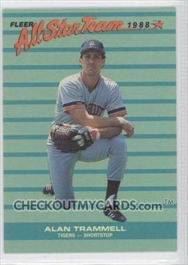 1988 Fleer All-Stars #9 Alan Trammell