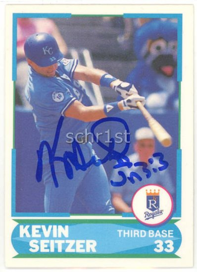 1988 Score Young Superstars I #10 Kevin Seitzer