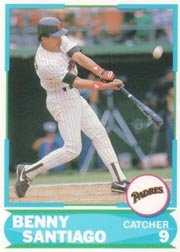 1988 Score Young Superstars I #2 Benito Santiago