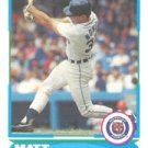 1988 Score Young Superstars I #5 Matt Nokes