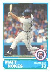 1988 Score Young Superstars I #5 Matt Nokes