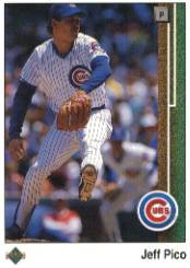 1989 Upper Deck #491 Jeff Pico