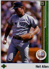 1989 Upper Deck #567 Neil Allen