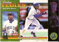 1999 Pacific Omega #114 Carlos Febles