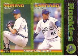 1999 Pacific Omega #118 O.Moreno/J.Santiago RC