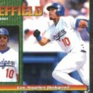 1999 Pacific Omega #125 Gary Sheffield
