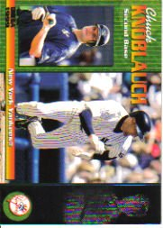 1999 Pacific Omega #164 Chuck Knoblauch