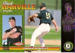 1999 Pacific Omega #170 Chad Harville RC