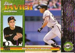 1999 Pacific Omega #212 Stan Javier