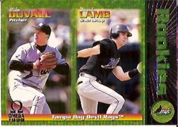 1999 Pacific Omega #233 M.Duvall RC/D.Lamb