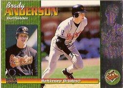 1999 Pacific Omega #29 Brady Anderson