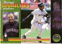 1999 Pacific Omega #83 Darryl Hamilton