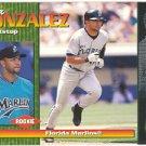 1999 Pacific Omega #99 Alex Gonzalez