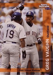 1999 Sports Illustrated #145 Greg Vaughn