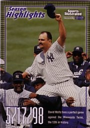 1999 Sports Illustrated #31 David Wells