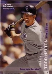 1999 Sports Illustrated #92 Todd Helton
