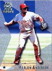 1999 Topps Stars #97 Marlon Anderson