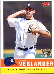 2006 Fleer Tradition #173 Justin Verlander