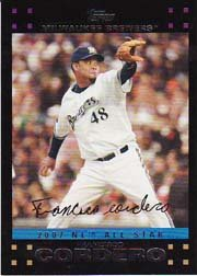 2007 Topps Update #238 Francisco Cordero