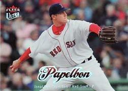 2007 Ultra #21 Jonathan Papelbon