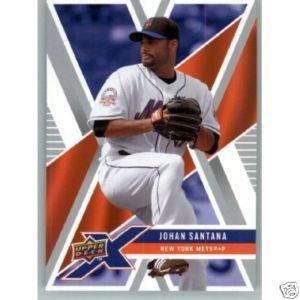 2008 Upper Deck X #64 Johan Santana