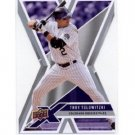 2008 Upper Deck X Die Cut #38 Troy Tulowitzki