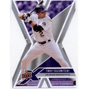 2008 Upper Deck X Die Cut #38 Troy Tulowitzki