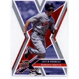 2008 Upper Deck X Die Cut #59 Justin Morneau
