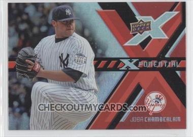2008 Upper Deck X Xponential #JC Joba Chamberlain