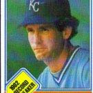 1983 Topps #6 John Wathan