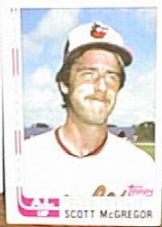 1982 Topps #555 Scott McGregor AS