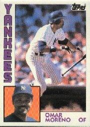 1984 Topps #16 Omar Moreno