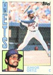 1984 Topps #161 Junior Ortiz